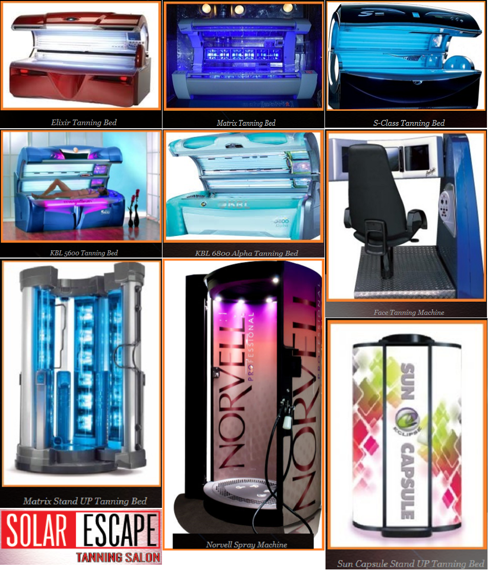 All Tanning Beds and Teeth Whitting Located At Solar Escape Tanning Eastchester